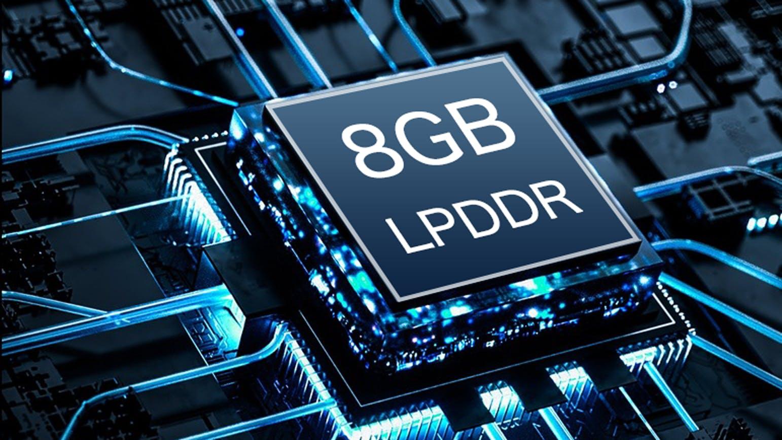 メモリ8GBでサクサク動作