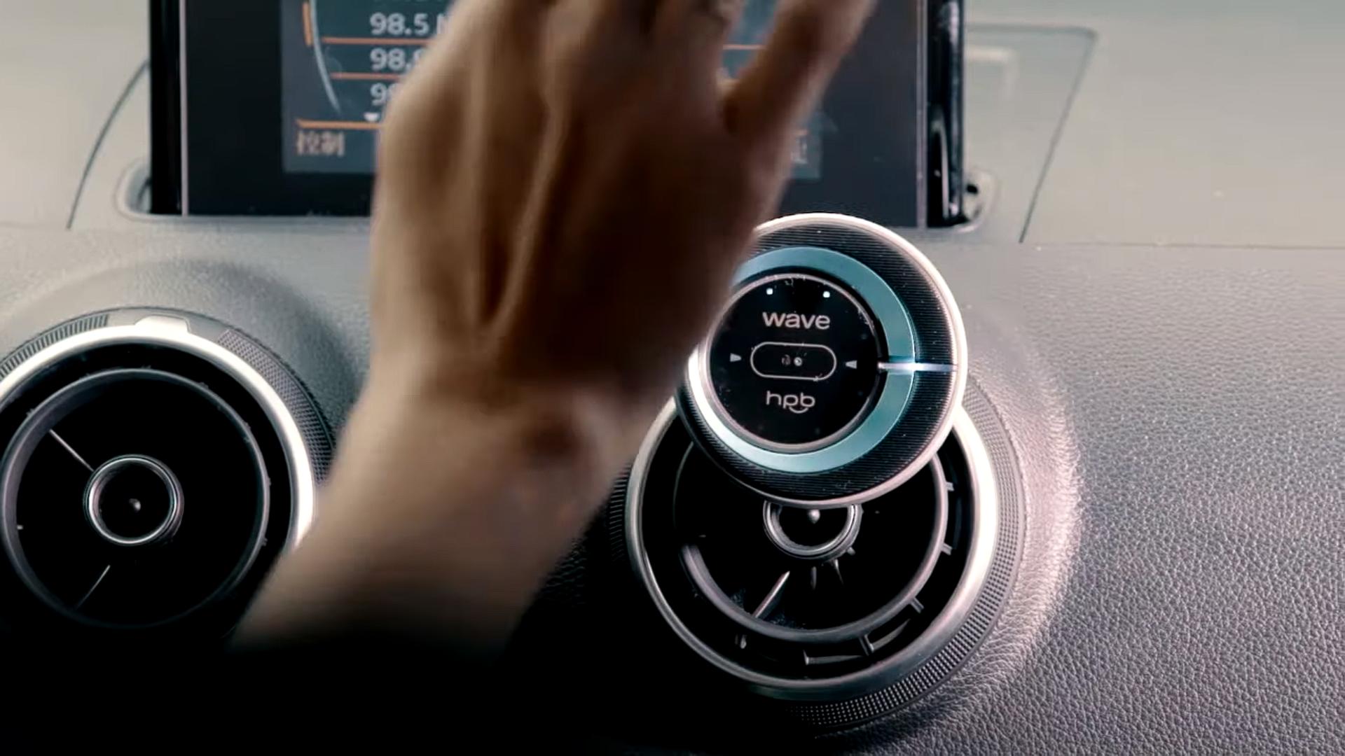 手を触れずにスマホを操作できるハンドジェスチャーコントローラー