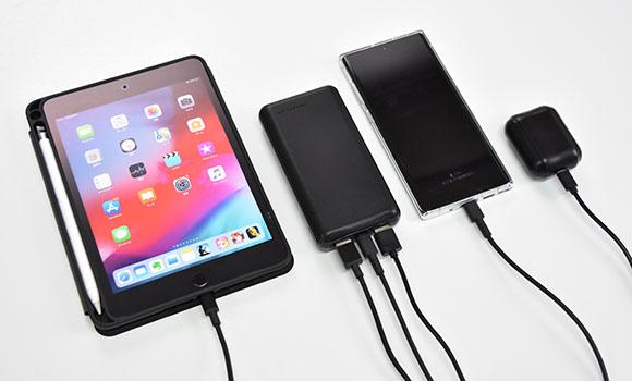 iPhone11を約4回フル充電できる容量