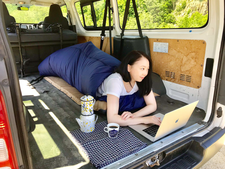 【使用レビュー】人気YouTuberコラボの車中泊に便利な空調式寝袋を試してみた!