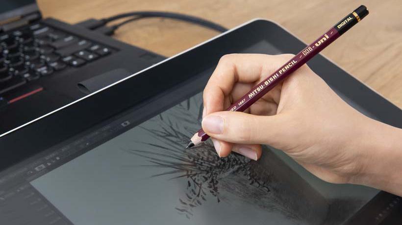 懐かしの三菱鉛筆がデジタルペンに! 「Hi-uni DIGITAL for Wacom」が発売開始
