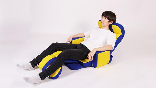 【座り方4】全身の力を抜いてリラックス