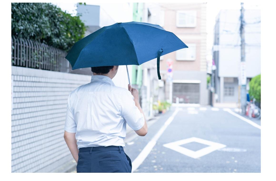 いつでも折り畳み傘を持ち歩ける
