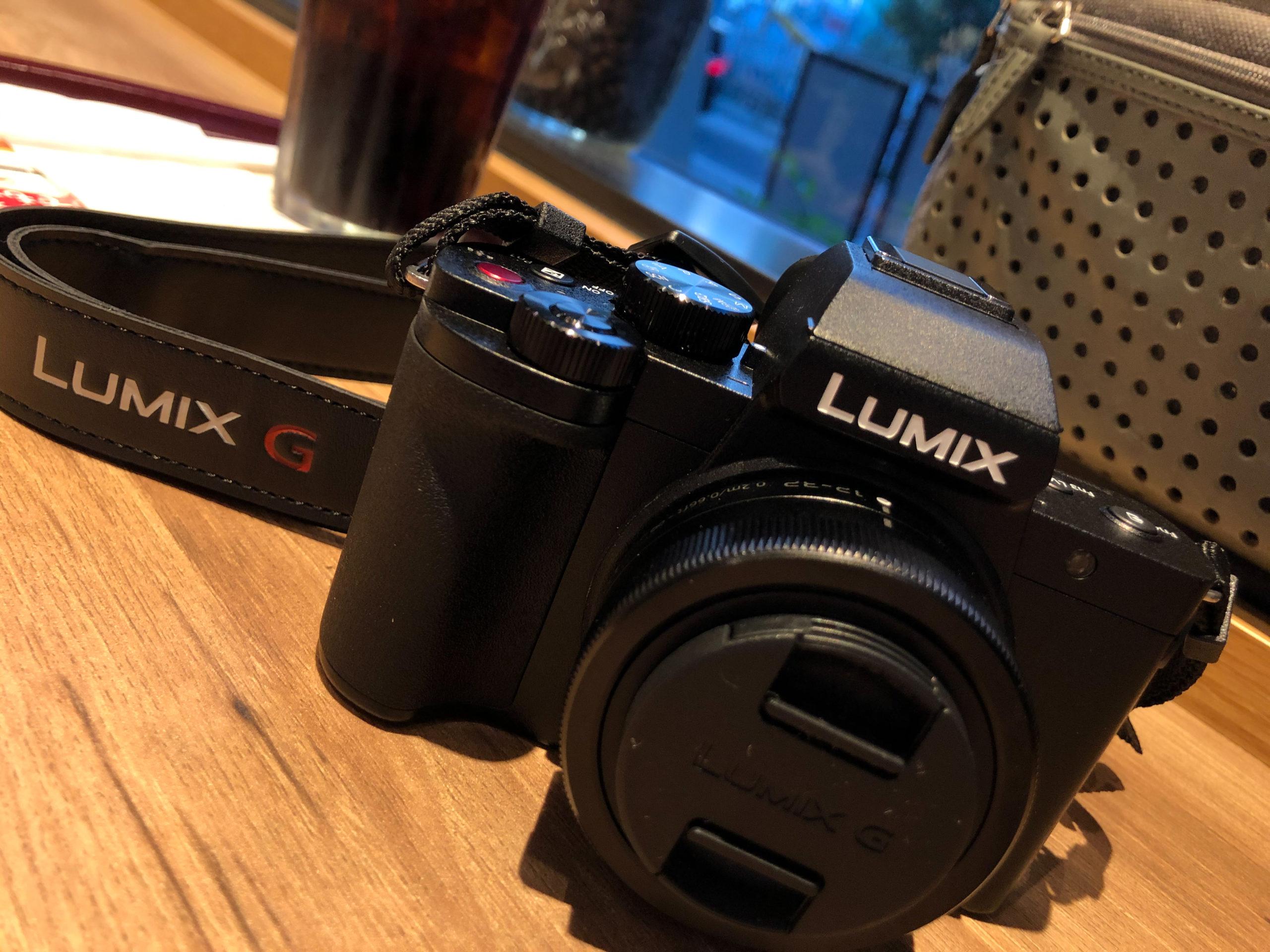 「LUMIX G100」