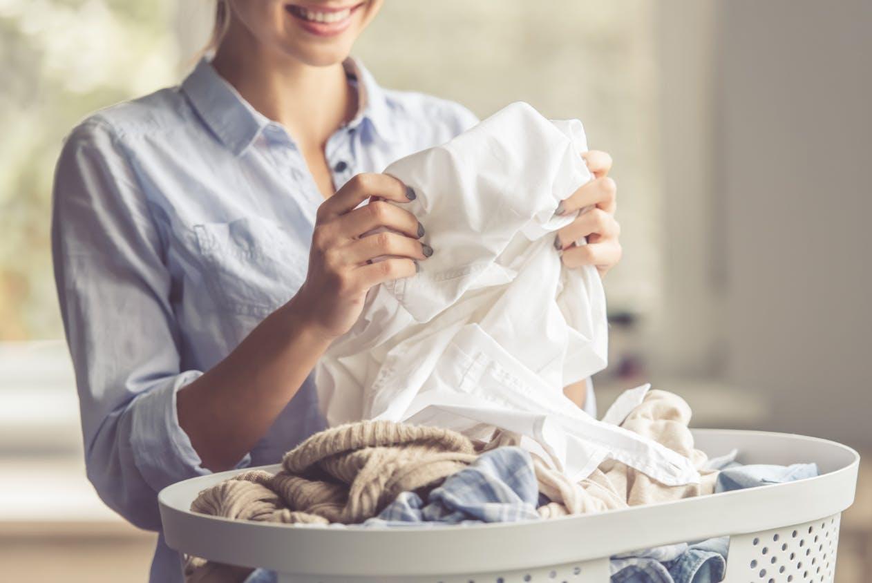 自宅で洗濯OK