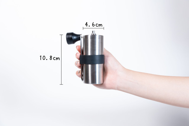 1回で2杯分挽くことができるコーヒーミル