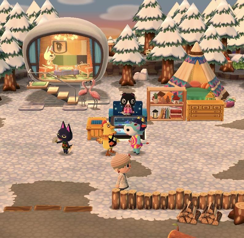 キャンプ場のレイアウト、なかなか難しい…!